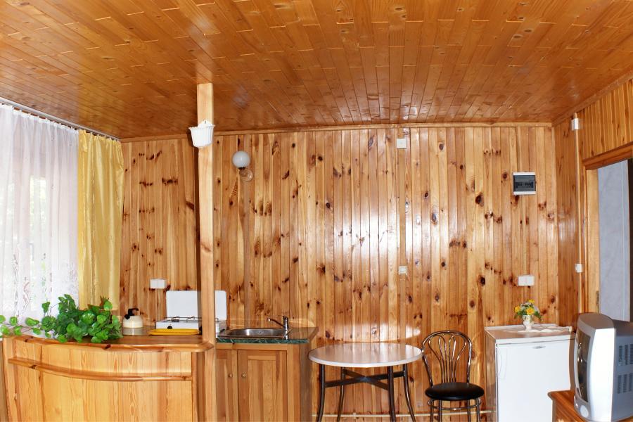 Domki w Mikołajkach, domek nr.1, aneks kuchenny