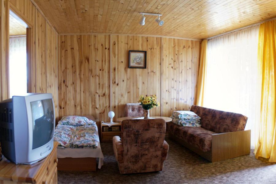 Domki w Mikołajkach, domek nr.1, salon