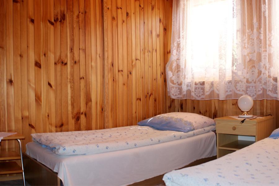 Domki w Mikołajkach, domek nr.1, sypialnia