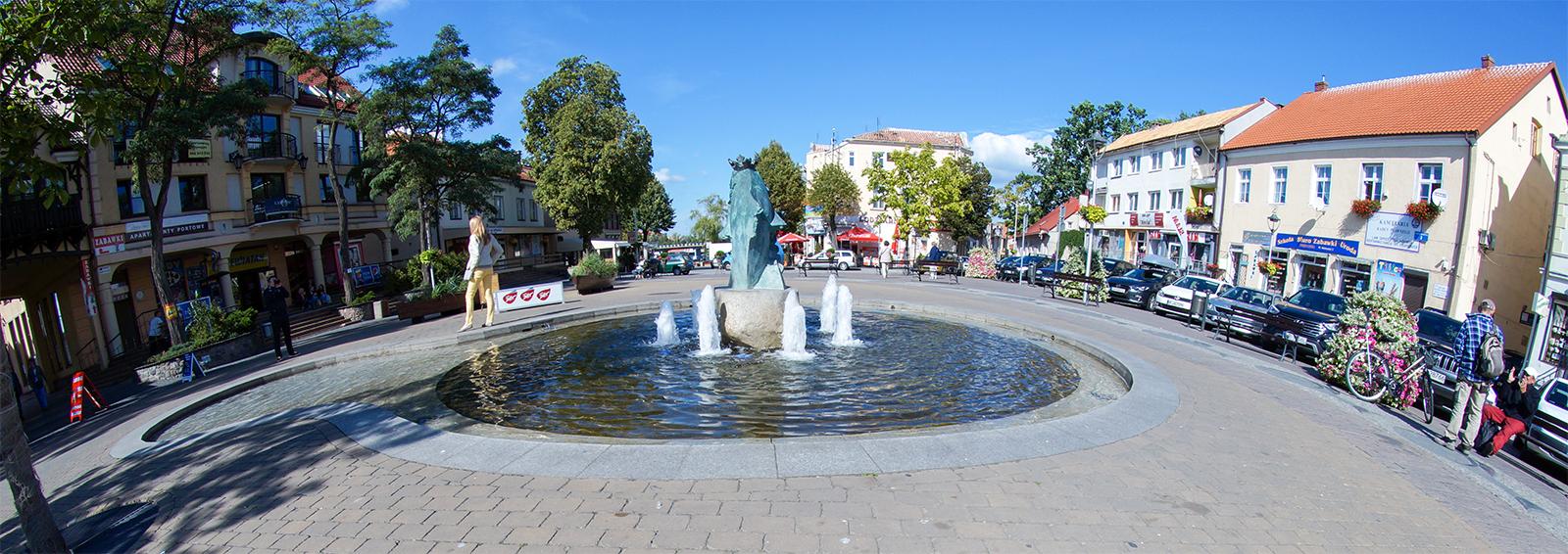 Noclegi w Mikołajkach. centrum Mikołajek